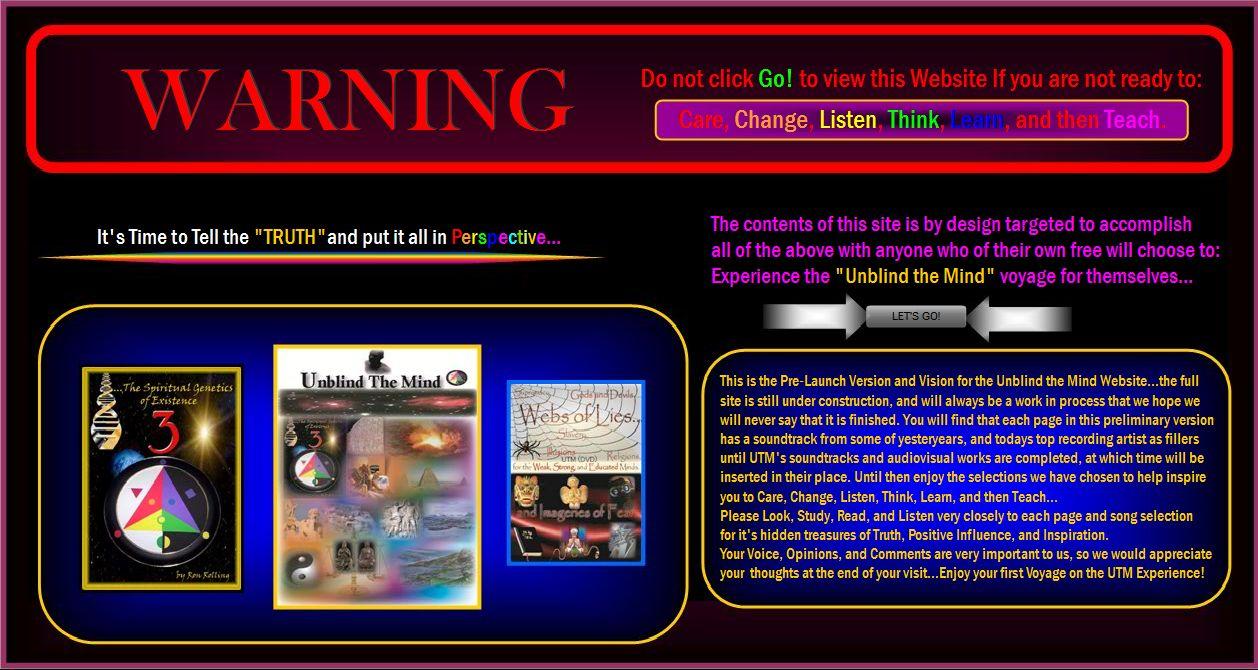 Ubtm Warning Page